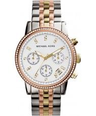 Michael Kors MK5650 Dames Ritz tri-tone chronograaf horloge