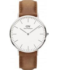 Daniel Wellington DW00100110 Classic 40mm durham zilveren horloge