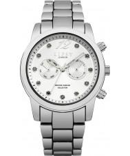 Lipsy LP477 Dames zilveren armband horloge