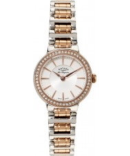 Rotary LB90083-02 Ladies les originales two tone horloge