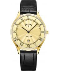 Rotary GS08303-03 Mens ultra slank horloge