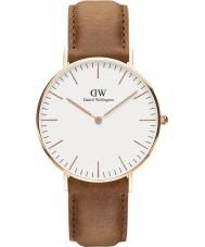 Daniel Wellington DW00100111 Classic 36mm durham rose gouden horloge