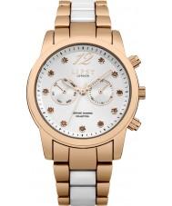 Lipsy LP480 Dames two tone armband horloge