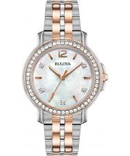 Bulova 98L242 Dames kristal horloge