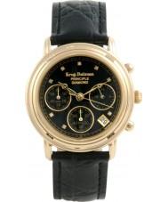 Krug-Baumen 150573DM Mens principe diamant chronograaf