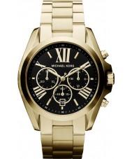 Michael Kors MK5739 Ladies Bradshaw goud toon chronograafhorloge