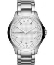 Armani Exchange AX2177 Mannen zilver stalen armband jurk horloge