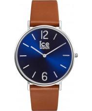 Ice-Watch 001520 City-leerlooier exclusieve bruine lederen band horloge
