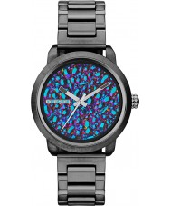 Diesel DZ5428 Ladies flare rainbow gunmetal ip horloge