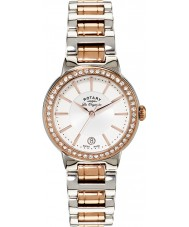 Rotary LB90083-02L Ladies les originales two tone horloge