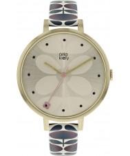 Orla Kiely OK2190 Dames klimop horloge