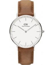 Daniel Wellington DW00100112 Classic 36mm durham zilveren horloge