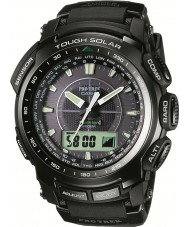 Casio PRW-5100-1ER Mens pro trek triple sensor Tough Solar horloge