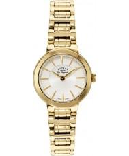 Rotary LB90084-02 Ladies les originales gouden horloge