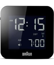 Braun BNC008BK-RC Global radiogestuurde reizen wekker - zwart