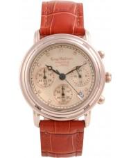 Krug-Baumen 150575DM Principe diamant mannen nam gouden chronograaf horloge