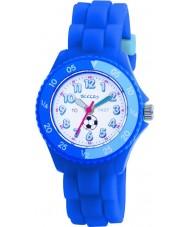 Tikkers TK0002 Kids blauwe rubberen horloge