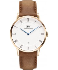 Daniel Wellington DW00100115 Dapper 38mm durham rose gouden horloge