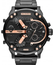 Diesel DZ7312 Mens mr papa 2,0 zwart ip multifunctioneel horloge