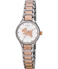 Radley RY4214 Dames op de vlucht verbinding two tone stalen armband horloge
