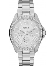 Fossil AM4481 Ladies cecile zilver staal chronograafhorloge