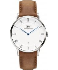 Daniel Wellington DW00100116 Dapper 38mm durham zilveren horloge