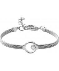 Skagen SKJ0834040 Ladies elin zilveren stalen armband