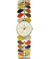 Orla Kiely OK4060 Dames laurier horloge