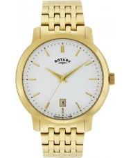 Rotary GB02462-01 Mens uurwerken sloane vergulde horloge