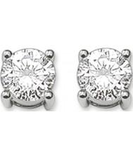 Thomas Sabo H1739-051-14 Dames zilveren oorbellen met wit zirkoon