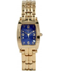 Krug-Baumen 1964DMG Tuxedo goud 4 diamond blauwe wijzerplaat gouden riem