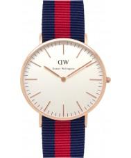 Daniel Wellington DW00100001 Mens klassieke 40mm Oxford nam gouden horloge