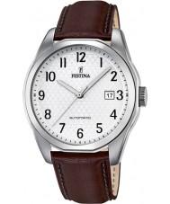 Festina F16885-1 Mens sportief bruine automatisch horloge