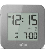 Braun BNC008GY-RC Grey digitale reizen wekker