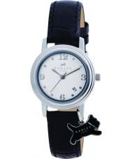 Radley RY2007 Ladies charme zwart lederen band horloge
