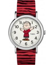 Timex TW2R41200 Peanuts weekender horloge