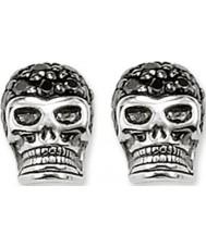 Thomas Sabo H1772-051-11 Pave schedel zilveren oorknopjes