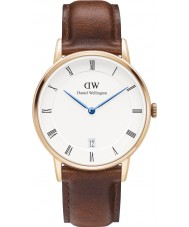 Daniel Wellington DW00100091 Dapper 34mm st mawes rose gouden horloge