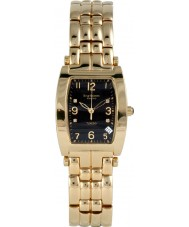 Krug-Baumen 1965DMG Tuxedo goud 4 diamond zwarte wijzerplaat goud band