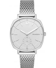 Skagen SKW2402 Ladies Rungsted zilveren stalen gaas armband horloge