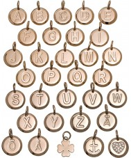 Edblad 116130235-V Charmentity v rose goud verguld kleine hanger