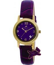 Radley RY2008 Ladies charme paars lederen band horloge