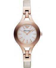 Emporio Armani AR7354 Ladies room en rose gouden jurk horloge