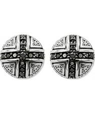 Thomas Sabo H1776-051-11 Zilveren oorknopjes met zwarte zirconia pave kruis