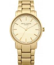 Daisy Dixon DD004GM Ladies Kate mat goud spiegel wijzerplaat verguld horloge