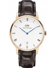 Daniel Wellington DW00100093 Dapper 34mm york rose gouden horloge