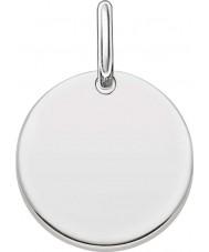 Thomas Sabo LBPE0001-001-12 Dames houden van brug 925 sterling zilveren hanger
