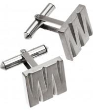 Edblad 82599 Mens decaan titanium manchetknopen