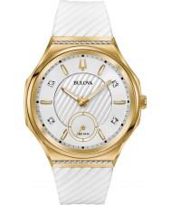 Bulova 98R237 Dames diamantkromme horloge