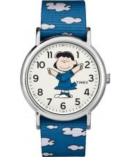 Timex TW2R41300 Peanuts weekender horloge